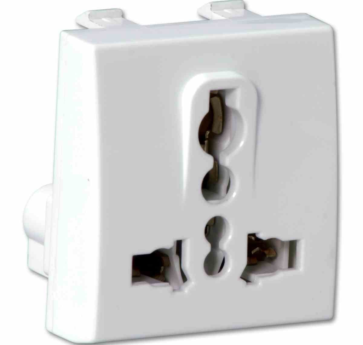 2 Module Universal Socket - Electrical and Networking, Electrical ...