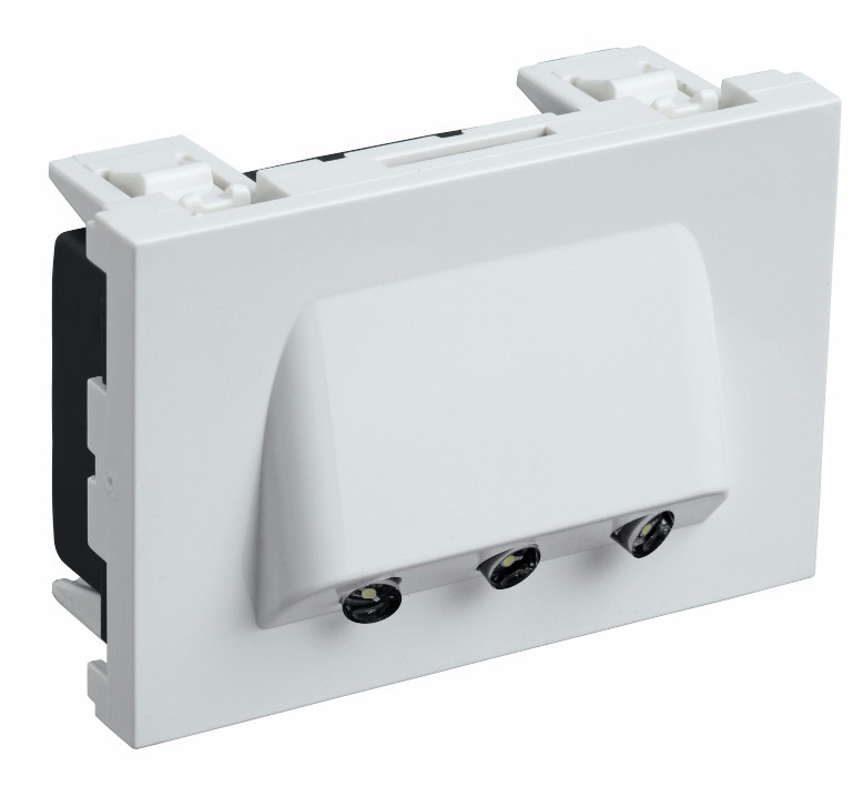 3 Module Skirting Light with White LED 673036 - Electrical and ...