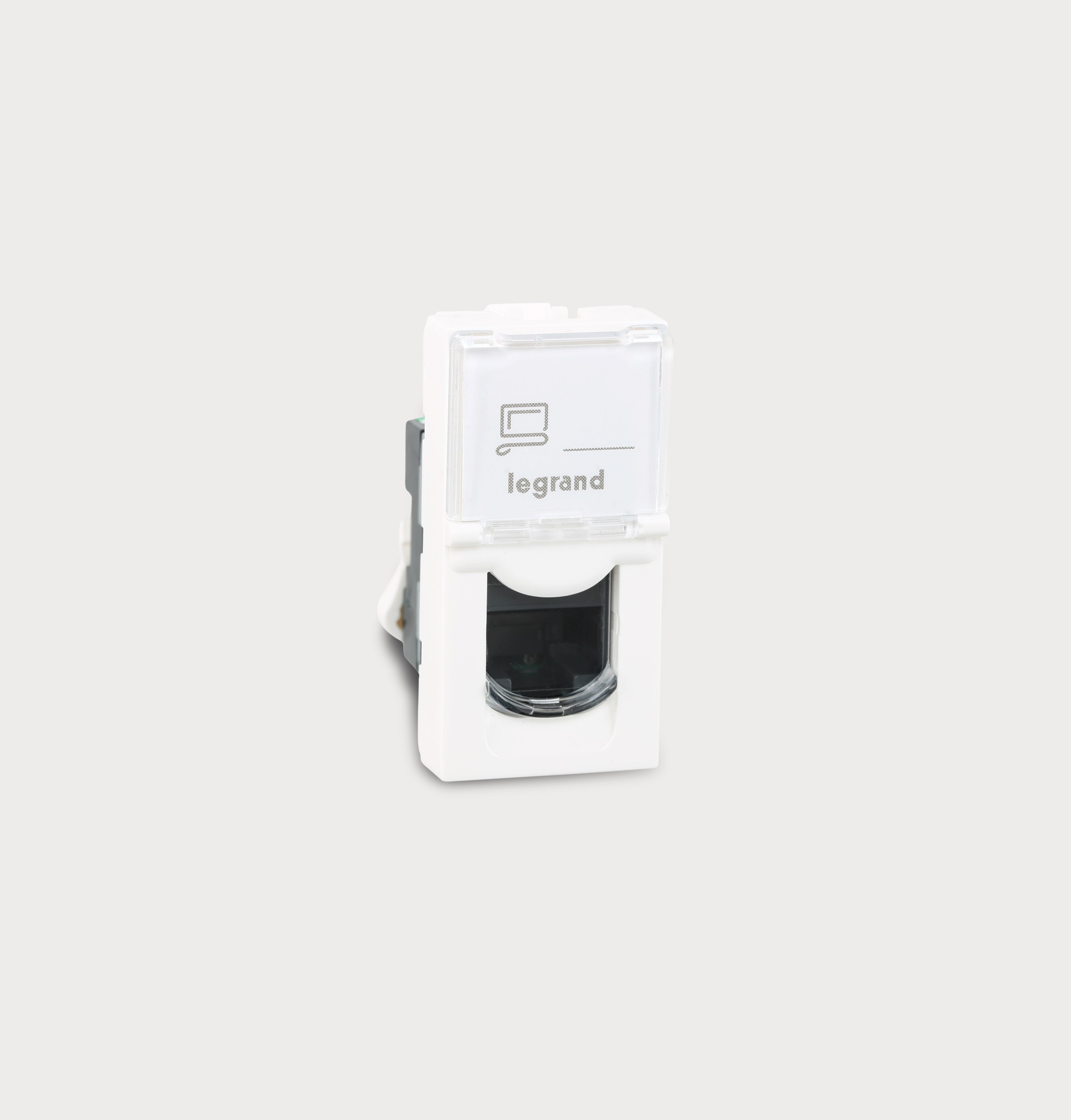 UTP Cat 5E Information Outlets Tool Less System (White) 673054 ...