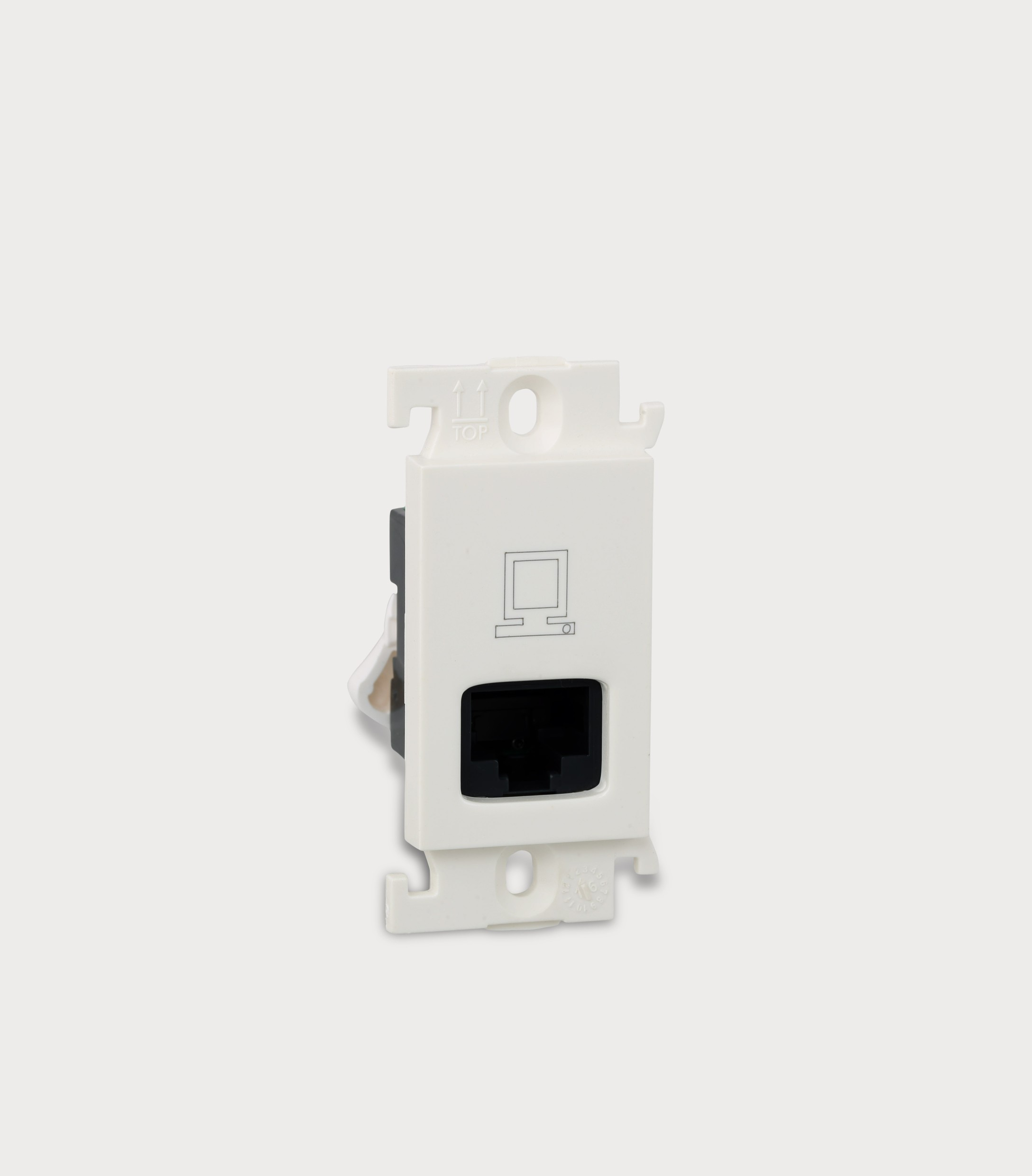 25A 1 Module Switch with Indicator (White) 675968 - Electrical and ...