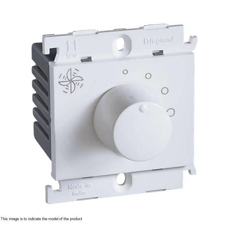 100W 2 Module Fan Regulator (Grey) - 676337 - Electrical and ...